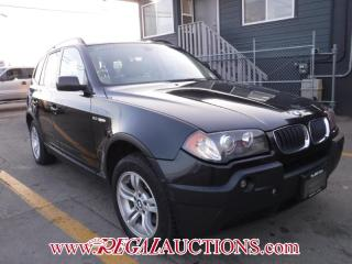 Used 2004 BMW X3  4D UTILITY 3.0I AWD for sale in Calgary, AB