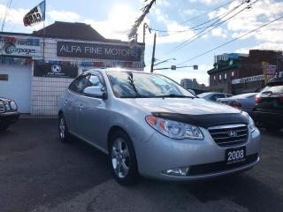 Used 2008 Hyundai Elantra LIMITED **LEATHER/SUNROOF ((CERTIFIED)) for sale in Hamilton, ON