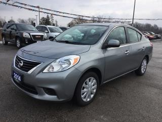 Used 2014 Nissan VERSA 1.6 SV * BLUETOOTH * VOICE COMMAND/RECOGNITION * LOW KM for sale in London, ON