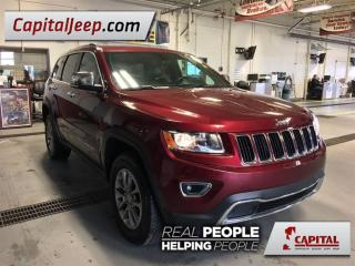 Used 2016 Jeep Grand Cherokee Limited| Leather| Sunroof| Low KM for sale in Edmonton, AB