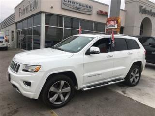 Used 2016 Jeep Grand Cherokee Overland,,Diesel ..Fully Loaded for sale in Burlington, ON