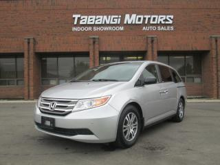 Used 2012 Honda Odyssey EX-L | DVD | CAMERA |LEATHER | SUNROOF | POWER DOORS | for sale in Mississauga, ON