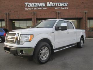 Used 2010 Ford F-150 Lariat Supercrew 6.5-Ft. Leather, heated & cooled seats 4WD. for sale in Mississauga, ON