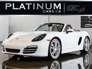 Used 2013 Porsche Boxster CONVERTIBLE, NAVI, P for sale in North York, ON