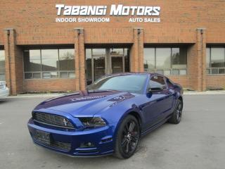 Used 2013 Ford Mustang PREMIUM/LEATHER/6-SPEED/ ONE OF A KIND! for sale in Mississauga, ON