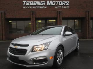 Used 2016 Chevrolet Cruze LT | BACK UP CAMERA | BLUETOOTH | USB PLUG IN | for sale in Mississauga, ON