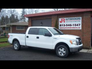 Used 2011 Ford F-150 XLT 4X4 Supercrew 5.0L Low Kms! for sale in Elginburg, ON