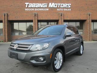 Used 2012 Volkswagen Tiguan NAVIGATION | AWD | PANORAMIC ROOF | HIGHLINE | for sale in Mississauga, ON