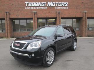 Used 2010 GMC Acadia SLT | AWD |NAVIGATION | LEATHER | REAR CAMERA | for sale in Mississauga, ON