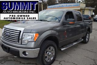Used 2011 Ford F-150 XLT , XTR CREW 4X4 SHORT BOX for sale in Richmond Hill, ON