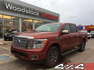 Used 2017 Nissan Titan Platinum Reserve  - Bluetooth - $345.27 B/W for sale in Woodstock, ON