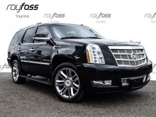 Used 2012 Cadillac Escalade Platinum 22whls Nav Roof Pwr Boards for sale in Thornhill, ON
