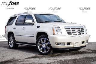 Used 2012 Cadillac Escalade Ultra Luxury 22Whls Nav Roof for sale in Thornhill, ON