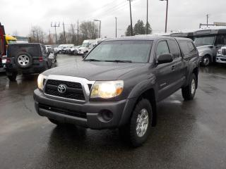 Used 2011 Toyota Tacoma SR5 With Canopy 4WD for sale in Burnaby, BC