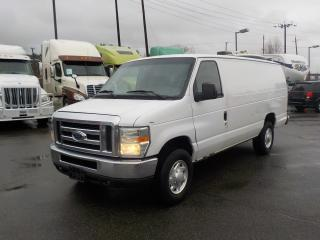 Used 2008 Ford E-250 Cargo Van Extended With Bulkhead Divider for sale in Burnaby, BC