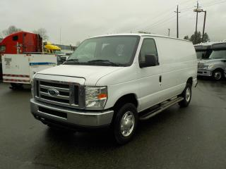 Used 2012 Ford Econoline E-250 Cargo Van with Rear Bulkhead for sale in Burnaby, BC