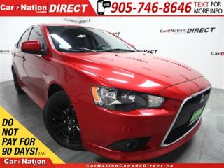 Used 2013 Mitsubishi Lancer GT AWC| LEATHER| SUNROOF| UPGRADED WHEELS| for sale in Burlington, ON