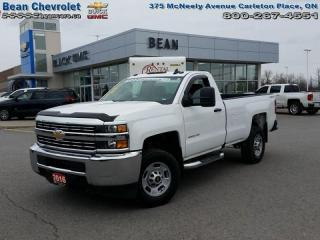 Used 2016 Chevrolet Silverado 2500HD WT for sale in Carleton Place, ON