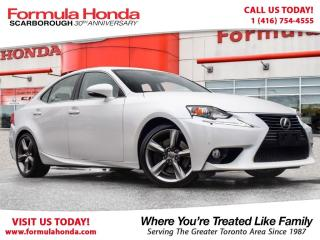 Used 2014 Lexus IS 350 NAVIGATION | EXECUTIVE | ONLY $30,995 for sale in Scarborough, ON