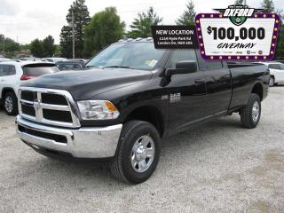 Used 2017 Dodge Ram 2500 ST - Bluetooth, Sat Radio, Trailer Hitch for sale in London, ON