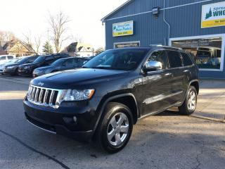 Used 2011 Jeep Grand Cherokee Overland for sale in Belmont, ON