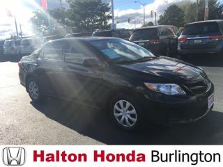 Used 2013 Toyota Corolla CE|SERVICE HISTORY ON FILE for sale in Burlington, ON