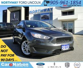 Used 2015 Ford Focus SE  | VOICE COMMANDS | HEATED SEATS | SUNROOF | for sale in Brantford, ON