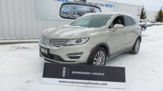 Used 2015 Lincoln MKC Reserve 255hp Loaded Sold Serviced By Expressway for sale in Stratford, ON
