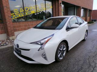 Used 2017 Toyota Prius Touring Navigation, Leather for sale in Woodbridge, ON