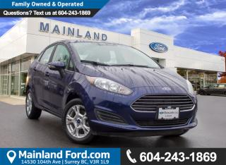 Used 2016 Ford Fiesta SE LOW KMS, LOCAL for sale in Surrey, BC