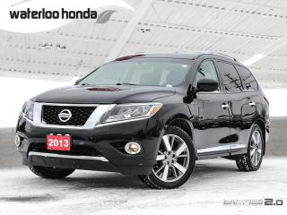 Used 2013 Nissan Pathfinder Platinum Bluetooth, Back Up Camera, Navigation, and More!!! for sale in Waterloo, ON
