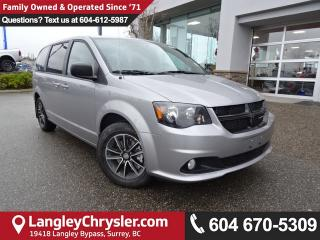 New 2017 Dodge Grand Caravan CVP/SXT DVD Entertainment, Blacktop Pkg for sale in Surrey, BC