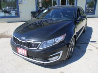 Used 2011 Kia Optima Hybrid LOADED HYBRID EDITION 5 PASSENGER 2.4L - HYBRID.. LEATHER TRIM.. HEATED SEATS.. BACK-UP CAMERA.. TOUCH SCREEN DISPLAY.. for sale in Bradford, ON