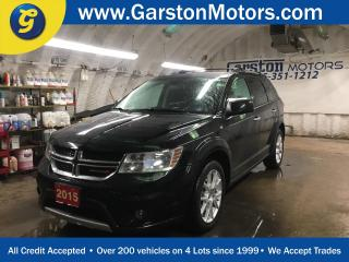Used 2015 Dodge Journey R/T*AWD*LEATHER*U CONNECT PHONE*BACK UP CAMERA*KEYLESS ENTRY w/REMOTE START*TRI ZONE CLIMATE CONTROL w/REAR AIR CONTROL* for sale in Cambridge, ON