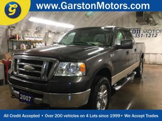 Used 2007 Ford F-150 XLT*SUPERCREW*4WD*KEYLESS ENTRY*CLIMATE CONTROL*RAIN GUARDS*SIDE STEPS*BOX LINER*HITCH RECEIVER*HOOD DEFLECTOR*FRONT TOW HOOKS* for sale in Cambridge, ON