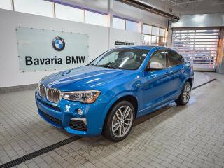 New 2018 BMW X4 M40i for sale in Edmonton, AB