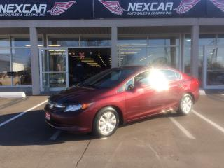 Used 2012 Honda Civic LX 5 SPEED A/C CRUISE CONTROL 110K for sale in North York, ON