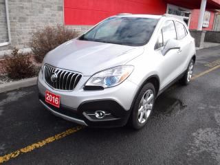 Used 2016 Buick Encore Leather for sale in Cornwall, ON