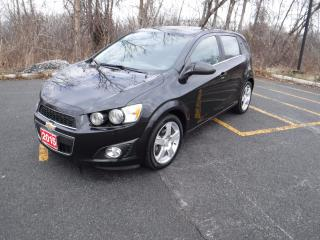 Used 2015 Chevrolet Sonic LT for sale in Cornwall, ON