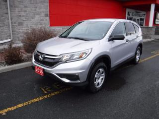 Used 2015 Honda CR-V LX for sale in Cornwall, ON