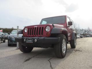 Used 2011 Jeep Wrangler Sport / ONE OWNER / ACCIDENT FREE for sale in Newmarket, ON