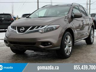 Used 2011 Nissan Murano LE AWD LEATHER SUNROOF HEATED SEATS ACCIDENT FREE for sale in Edmonton, AB