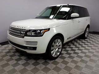 Used 2014 Land Rover Range Rover 5.0L V8 Supercharged - Local Trade In | No Accidents | Ex-USA | Navigation | Surround Camera System | Reverse Traffic/Blind Spot/Closing Vehicle Sensors | Parking Sensors | Soft Close Doors | Adaptive Xenon Headlamps | Panoramic Sunroof | Power Liftgate | for sale in Edmonton, AB