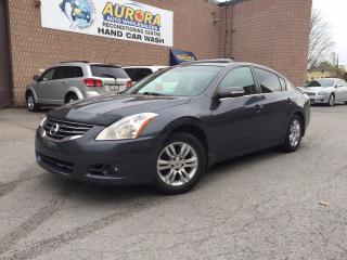 Used 2010 Nissan Altima 2.5 SL - Leather - Sunroof - Bluetooth for sale in Aurora, ON