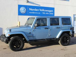 Used 2012 Jeep Wrangler Unlimited Sahara for sale in Edmonton, AB