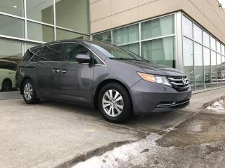 Used 2015 Honda Odyssey EX-L/DVD/LANE DEPARTURE/BACK UP CAMERA/HEATED SEATS for sale in Edmonton, AB
