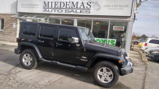 Used 2010 Jeep Wrangler Sahara for sale in Mono, ON