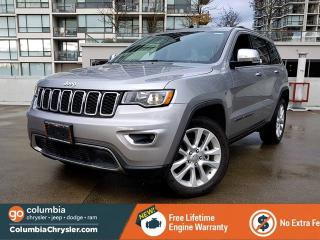 Used 2017 Jeep Grand Cherokee LIMITED, NO ACCIDENTS. GREAT CONDITION, FREE LIFETIME ENGINE WARRANTY! for sale in Richmond, BC