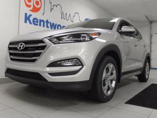 Used 2017 Hyundai Tucson SE AWD with front heated front seats and back up cam for sale in Edmonton, AB