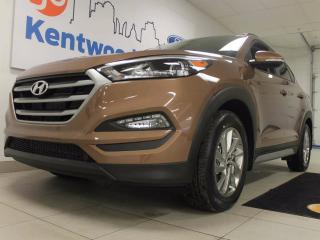 Used 2017 Hyundai Tucson Luxury with heated leather seats all throughout, panoramic roof and BLIS. It's Christmas for everyone! for sale in Edmonton, AB